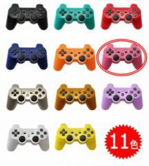 【新品】【PS3HD】【海外製】ワイヤレスコントローラ互換ピンク[お取寄せ品]