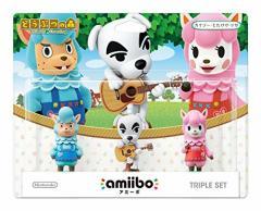 【新品】【WiiUHD】amiibo トリプルセット[カイゾー/とたけけ/リサ](どうぶつの森シリーズ)[お取寄せ品]