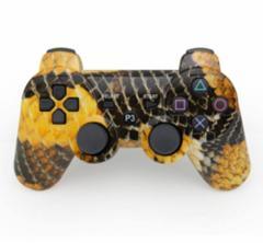 【新品】【PS3HD】【海外製】ワイヤレスコントローラ互換Snakeskin grain[お取寄せ品]