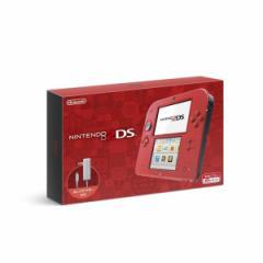 【新品】【3DSH】ニンテンドー2DS レッド[在庫品]
