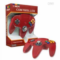 【新品】【N64】N64 Cirka Controller-Red[お取寄せ品]