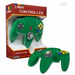 【新品】【N64】N64 Cirka Controller-Green[在庫品]