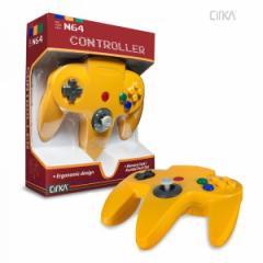 【新品】【N64】N64 Cirka Controller-Yellow[お取寄せ品]