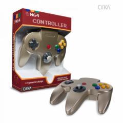 【新品】【N64】N64 Cirka Controller-Gold[お取寄せ品]