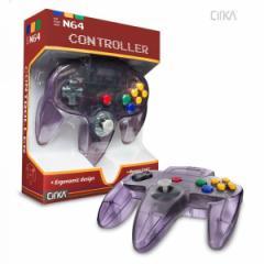 【新品】【N64】N64 Cirka Controller-AtomicPurple[お取寄せ品]