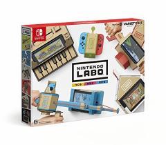 【即納可能】【新品】【NS】Nintendo Labo Toy-Con 01: Variety Kit (バラエティーキット)