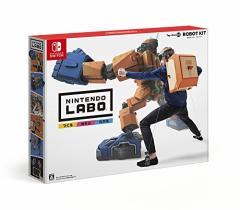 【新品】【NS】Nintendo Labo Toy-Con 02: Robot Kit (ロボットキット)[在庫品]