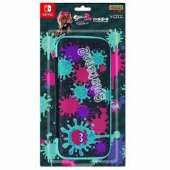 【新品】【NSHD】Splatoon2 ハードポーチfor Nintendo Switch インク×タコ[お取寄せ品]