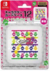 【11/10発売★予約】【新品】【NSHD】キャラクターカードケース12 for Nintendo Switchスプラトゥーン2 ホワイト(仮名)[予約品]