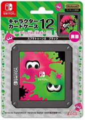【11/10発売★予約】【新品】【NSHD】キャラクターカードケース12 for Nintendo Switchスプラトゥーン2 ブラック(仮名)[予約品]
