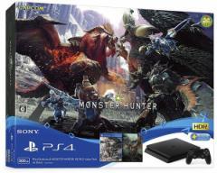 特典付☆訳あり【即納可能】【新品】PlayStation4 MONSTER HUNTER: WORLD Value Pack CUHJ-10026【送料無料】PS4本体