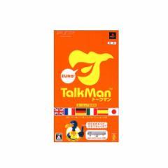 【新品】【PSP】TALKMAN Euro ヨーロッパ言語版【マイクロホン同梱版】[お取寄せ品]