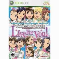 【新品】【Xbox360】【限】アイドルマスター Live for YOU! 限定版[お取寄せ品]