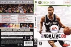 [100円便OK]【新品】【Xbox360】NBA ライブ09[お取寄せ品]