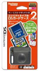【新品】【DSHD】DSカードポッド2+SD【クリアブラック】[在庫品]