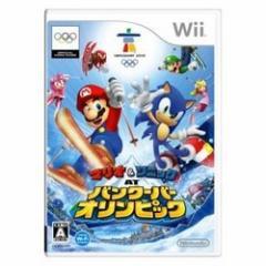 [100円便OK]【中古】【Wii】マリオ&ソニック AT バンクーバーオリンピック[お取寄せ品]