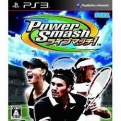 [100円便OK]【新品】【PS3】Power Smash ライブマッチ![お取寄せ品]