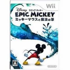 [100円便OK]【中古】【Wii】ディズニー エピックミッキー〜ミッキーマウスと魔法の筆〜[お取寄せ品]