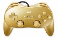 【新品】【WiiHD】クラブニンテンドー「ゴールデンクラシックコントローラPRO」[お取寄せ品]