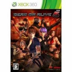 [100円便OK]【中古】【Xbox360】【通】DEAD OR ALIVE5 通常版[お取寄せ品]