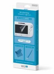 【新品】【WiiUHD】WiiU GamePadアクセサリー3点パック[在庫品]