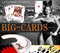 A4サイズ の ビッグトランプ ビッグカーズ BIG CARDS ババ抜き 7並べ 大富豪 大迫力 プレゼント イベント ET-BIGCARD