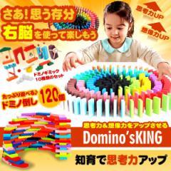 ドミノキング 120個 ドミノ倒し ギミック セット 木製 カラフル 知育 出産祝い お誕生日 子供 ホビー おもちゃ おしゃれ DOMINOKING