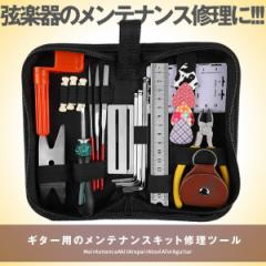ギター メンテナンスキット 修理ツール ギター クリーニング ウクレレ ベース メンテナンスセット 六角レンチ ピック METEGGGT