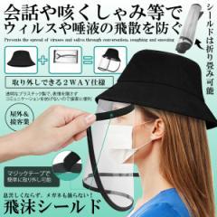 飛沫感染 シールド 帽子 ハット 取り外し可能 ウィルス対策 笑顔 透明マスク 表情 息苦しくない エコ 会話 接客 授業 講義 HIMOTUBS