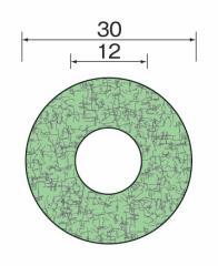 ミニター(MINITOR) クッションディスク #1500 φ30 SA2657