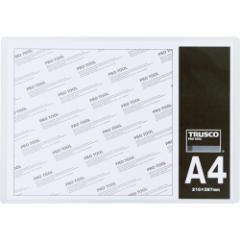 TRUSCO(トラスコ) 厚口カードケース A6 THCCH-A6