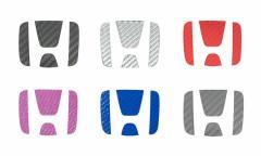 【2日〜9日はポイント10%】ハセプロ マジカルカーボン リアエンブレム専用 ホンダ8 レギュラーカラー(CEH-8)