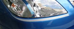 【20日〜24日はポイント10%】ハセプロ マジカルカーボン ヘッドライトガーニッシュ スバル エクシーガ YA4/5 2008.6〜2011.5(CHGS