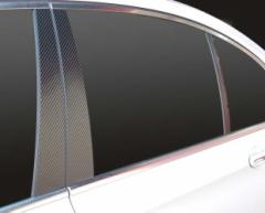 【20日〜24日はポイント10%】ハセプロ マジカルカーボン ピラーセット BMW 7シリーズ F01/02/04 2009.03〜(CPB-30)