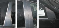 【20日〜24日はポイント10%】ハセプロ マジカルカーボン ピラーフルセット ホンダ フィットGE6〜9 2007.10〜/フィットハイブリッドG