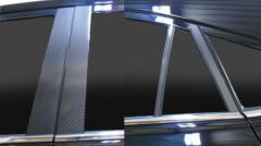 【20日〜24日はポイント10%】ハセプロ マジカルカーボン ピラースタンダードセット トヨタ ハリアー ZSU60W/65W 2013.2〜(CPT-79