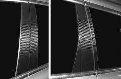 【20日〜24日はポイント10%】ハセプロ マジカルカーボン ピラーセット ボルボ V70 2007.11〜(CPVO-1)