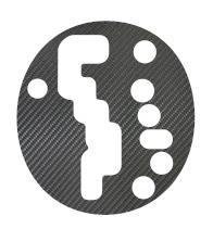 【20日〜24日はポイント10%】ハセプロ マジカルカーボン シフトパネル スイフト ZC/ZD系 2004.11〜 AT用(CSPSZ-1)