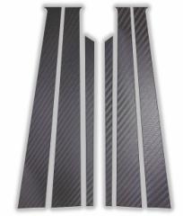 【20日〜24日はポイント10%】ハセプロ マジカルカーボン ピラーセット メルセデスベンツ Cクラスセダン W201(190E) 1985〜1993(CM