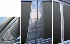 【20日〜24日はポイント10%】ハセプロ マジカルカーボン ピラーセット レクサス GS GRL10系 2012.1〜(CPL-8)