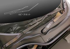 【20日〜24日はポイント10%】ハセプロ マジカルカーボン ワイパーアーム ホンダ S660 JW5 2015.4〜(CWAH-5)