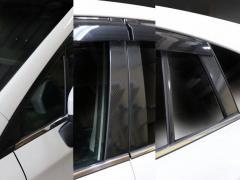 【20日〜24日はポイント10%】ハセプロ マジカルカーボン ピラーセット バイザーカットタイプ スバル インプレッサスポーツ/XV GT