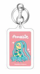 アマビエキーホルダー06 Amabie カラーは2色 妖怪 疫病退散 コロナウィルス対策 GSJ146 イラスト キーホルダー グッズ