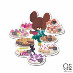 くまのがっこう ケーキ ウォールステッカー キャラクターステッカー ジャッキー くま 絵本 イラスト かわいい インテリア KMG029 公式