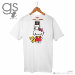 【ネット限定商品】 ハローキティ キャラクターTシャツ サンリオ マスクシリーズ レディースサイズ M L イラスト ライセンス商品 GST038