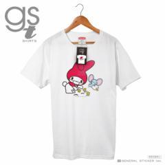【ネット限定商品】 マイメロディ キャラクターTシャツ サンリオ マスクシリーズ レディースサイズ M L イラスト ライセンス商品 GST039