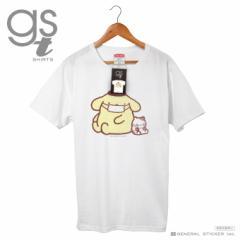【ネット限定商品】 ポムポムプリン キャラクターTシャツ サンリオ マスクシリーズ レディースサイズ M L イラスト ライセンス商品 GST04