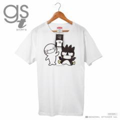 【ネット限定商品】 バッドばつ丸 キャラクターTシャツ サンリオ マスクシリーズ レディースサイズ M L イラスト ライセンス商品 GST042