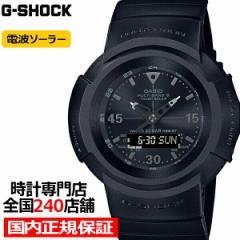 G-SHOCK ジーショック AWG-M520BB-1AJF メンズ 腕時計 電波ソーラー アナデジ ブラック 反転液晶 国内正規品