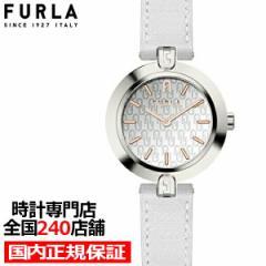 FURLA フルラ LOGO LINKS フルラロゴリンクス FL-WW00006001L1 レディース 腕時計 クオーツ 電池式 革ベルト ホワイト シルバー